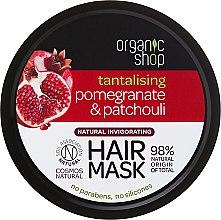 """Parfémy, Parfumerie, kosmetika Maska na vlasy """"Granátové jablko a Paucouli"""" - Organic Shop Mask Pomegranate and Patchouli"""