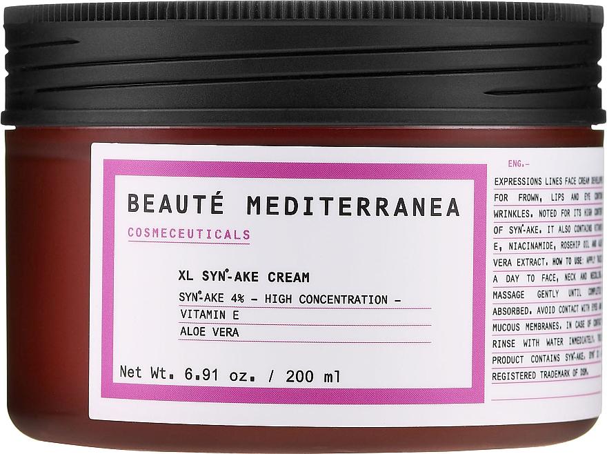 Peptidový krém na obličej s botulinickým toxinem - Beaute Mediterranea Botox Like Syn Ake Cream