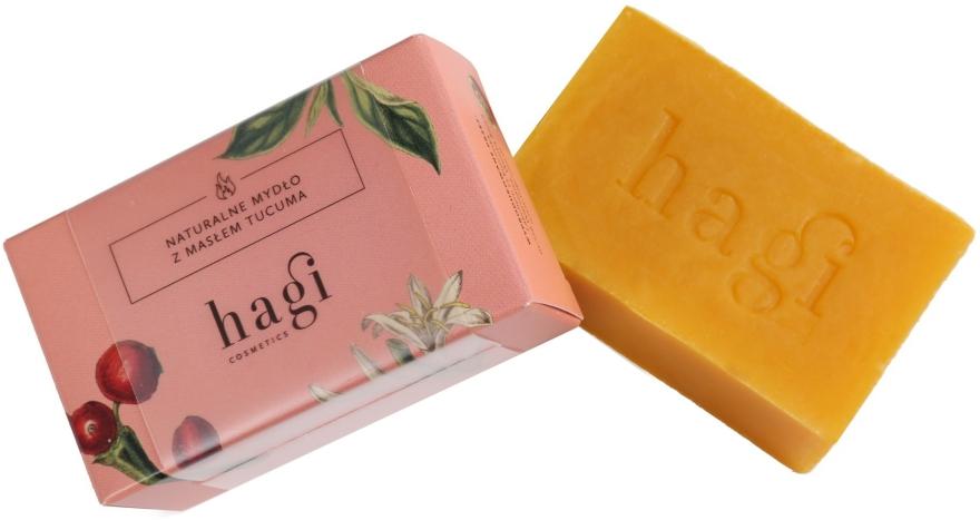 Přírodní mýdlo s olejem Tucuma - Hagi Natural Soap — foto N1