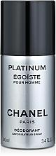 Parfémy, Parfumerie, kosmetika Chanel Egoiste Platinum - Deodorant