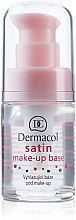 Parfémy, Parfumerie, kosmetika Podkladová báze pod make-up s vyhlazujícím efektem - Dermacol Satin Base Make-Up