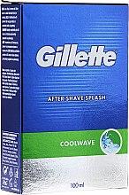 """Parfémy, Parfumerie, kosmetika Mléko po holení """"Čerstvé"""" - Gillette Series Cool Wave After Shave Splash for Men"""