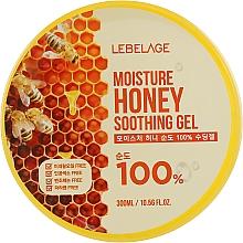 Parfémy, Parfumerie, kosmetika Zvlhčující gel s medem - Lebelage Moisture Honey 100% Soothing Gel