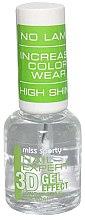 Parfémy, Parfumerie, kosmetika Lak na nehty - Miss Sporty Nail Expert 3D Gel Effect Top Coat