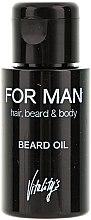 Parfémy, Parfumerie, kosmetika Olej na bradu - Vitality's For Man Beard Oil
