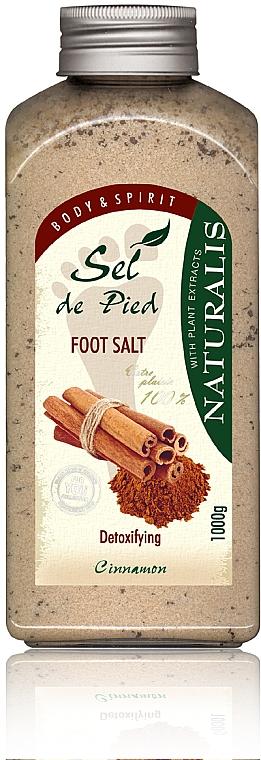 Koupelová sůl na nohy - Naturalis Sep de Pied Cinnamon Foot Salt