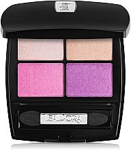 Parfémy, Parfumerie, kosmetika Oční stíny - IsaDora Eye Shadow Quartet