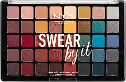 Parfémy, Parfumerie, kosmetika Paleta stínů - NYX Professional Makeup Swear By It Shadow Palette
