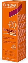 Parfémy, Parfumerie, kosmetika Opalovací krém - Noreva Laboratoires Bergasol Expert Invisible Finish Cream SPF 30+