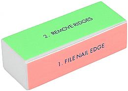 Parfémy, Parfumerie, kosmetika Čtyřstranný lešticí blok na nehty, široký - Tools For Beauty 4-way Nail Buffer Block