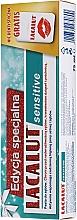 Parfémy, Parfumerie, kosmetika Sada - Lacalut Sensitive Special Edition Set (t/paste/75ml + dental/floss)