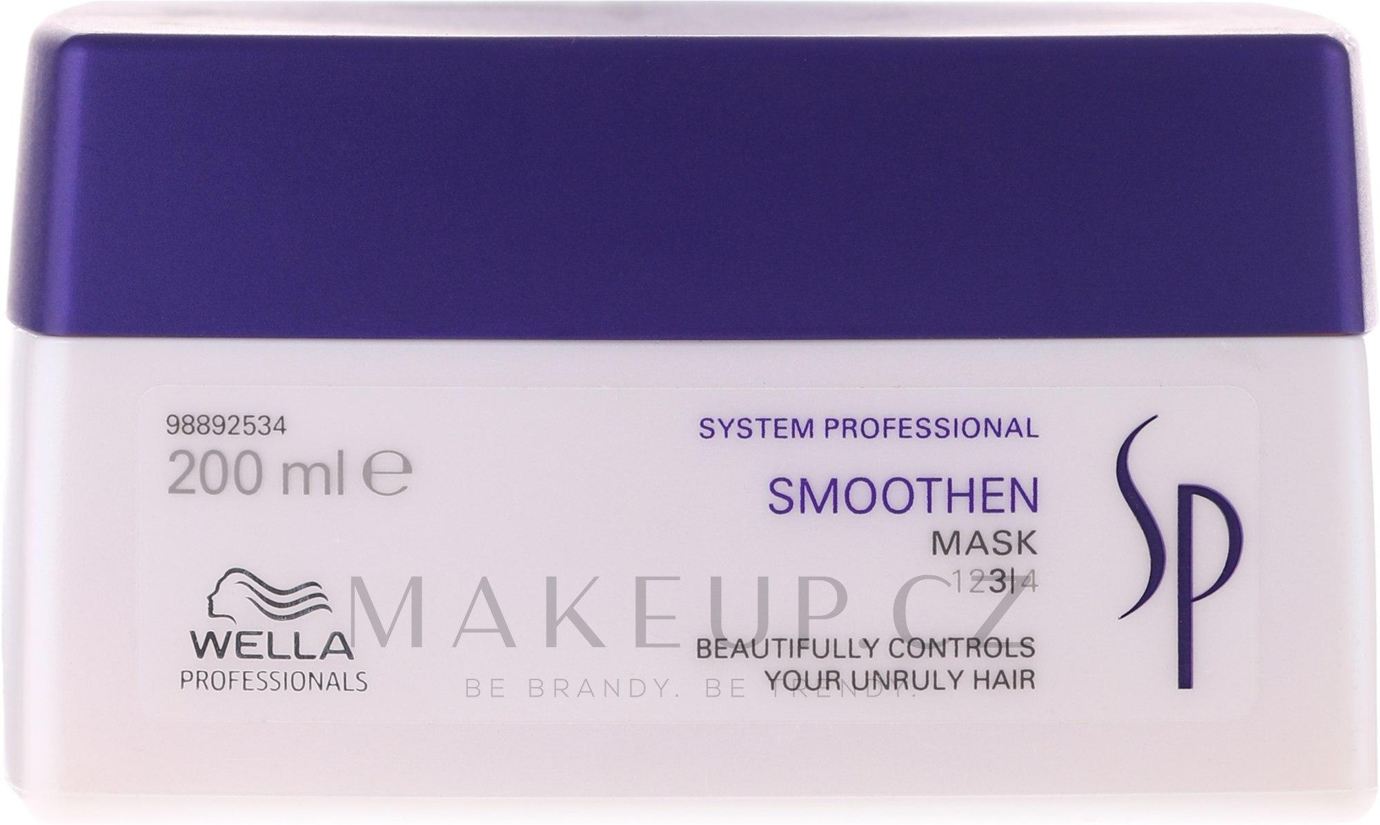 Maska pro hladkost vlasů - Wella SP Smoothen Mask — foto 200 ml