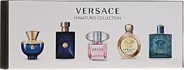 Parfémy, Parfumerie, kosmetika Versace Miniatures Collections - Sada (edt/4x5ml + edp/1x5ml)