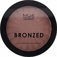 Parfémy, Parfumerie, kosmetika Bronzující pudr na obličej - MUA Bronzed Matte Bronzing Powder