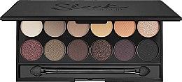 Parfémy, Parfumerie, kosmetika Paleta očních stínů - Sleek MakeUP i-Divine Mineral Based Eyeshadow Palette Au Naturel