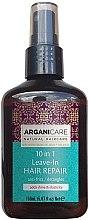 Parfémy, Parfumerie, kosmetika Sérum na vlasy 10v1 - Arganicare Shea Butter 10 in 1 Leave-In Hair Repair Anti-Frizz