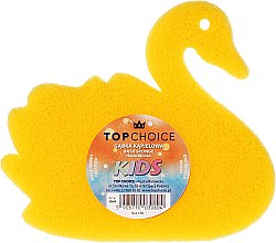 Parfémy, Parfumerie, kosmetika Houba do koupele, 30604, žlutá - Top Choice Bath Sponge Kids