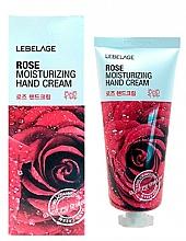 Parfémy, Parfumerie, kosmetika Krém na ruce s extraktem z růže - Lebelage Rose Moisturizing Hand Cream