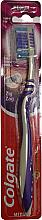 Parfémy, Parfumerie, kosmetika Zubní kartáček Zig Zag Plus, střední №2, šedo-fialový - Colgate Zig Zag Plus Medium Toothbrush