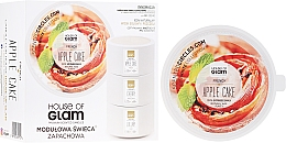 Parfémy, Parfumerie, kosmetika Aromatická svíčka - House of Glam French Apple Cake Candle