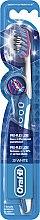 Zubní kartáček, modrý - Oral-B Proflex 3D White Luxe 38 Medium — foto N1