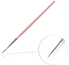 Parfémy, Parfumerie, kosmetika Štětec na zdobení nehtů, 15 mm Pink - Silcare Brush 03