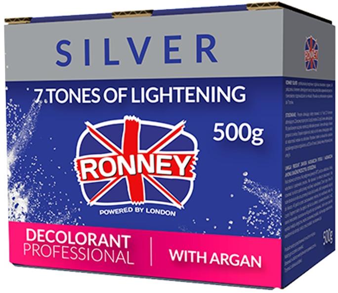 Zesvětlující pudr pro vlasy s máslem Argana - Ronney Dust Free Bleaching Powder With Argan