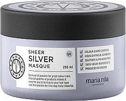 Parfémy, Parfumerie, kosmetika Maska na vlasy proti žloutnutí - Maria Nila Sheer Silver Masque