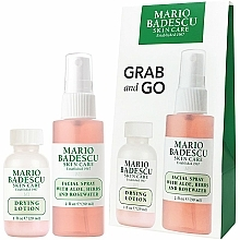 Parfémy, Parfumerie, kosmetika Sada - Mario Badescu Grab And Go Duo Set (lot/29ml+spray/59ml)