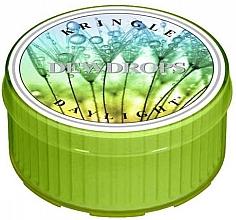 Parfémy, Parfumerie, kosmetika Čajová svíčka - Kringle Candle Dewdrops Daylight