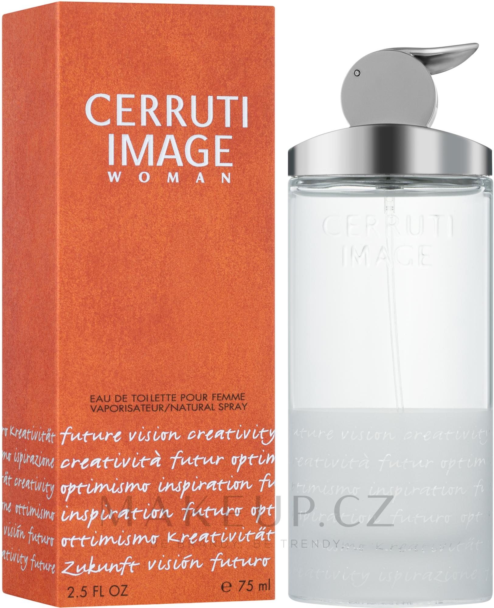 Cerruti Image pour femme - Toaletní voda — foto 75 ml