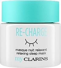 "Parfémy, Parfumerie, kosmetika Noční maska na obličej ""Relax"" - Clarins My Clarins Re-Charge Relaxing Sleep Mask"