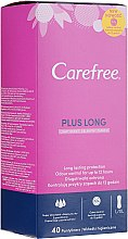 Parfémy, Parfumerie, kosmetika Denní hygienické vložky, 40 ks - Carefree Plus Long