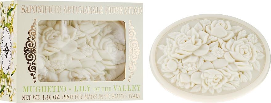 Přírodní mýdlo Konvalinka - Saponificio Artigianale Fiorentino Botticelli Lily Of The Valley Soap