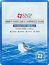 Parfémy, Parfumerie, kosmetika Omlazující maska s extraktem z vlaštovčího hnízda - SNP Birds Nest Aqua Ampoule Mask