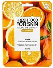 Parfémy, Parfumerie, kosmetika Plátýnková pleťová maska Pomeranč - Superfood For Skin Facial Sheet Mask Orange Refreshing
