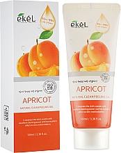 Parfémy, Parfumerie, kosmetika Peelingový pleťový gel Meruňka - Ekel Apricot Natural Clean Peeling Gel