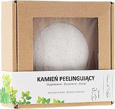 Parfémy, Parfumerie, kosmetika Přírodní kámen pro tělový peeling, bílý - Pierre de Plaisir Natural Scrubbing Stone Body