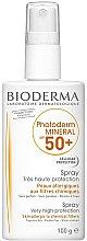 Parfémy, Parfumerie, kosmetika Intenzivní sprej na opalování - Bioderma Photoderm Mineral SPF 50+ Spray