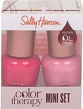 Parfémy, Parfumerie, kosmetika Sada - Sally Hansen Color Therapy Nail Polish Mini Set (nail/polish/2x5ml)