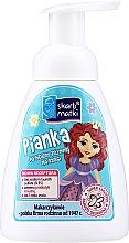 Parfémy, Parfumerie, kosmetika Dětská intimni mycí pěna, princezna 2 na modrém pozadí - Skarb Matki Intimate Hygiene Foam For Children