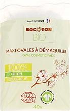 Parfémy, Parfumerie, kosmetika Dětské bavlněné tampony, oválné, 40 ks - Bocoton Bio