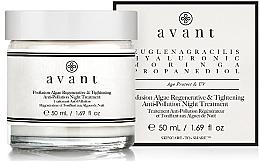 Parfémy, Parfumerie, kosmetika Regenerační a zpevňující noční péče o pleť s mořskými řasami - Avant Profusion Algae Regenerative and Tightening Anti-Pollution Night Treatment