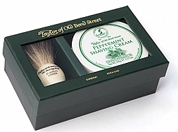 Parfémy, Parfumerie, kosmetika Sada - Taylor of Old Bond Street Peppermint (sh/brash + sh/cream/150g)