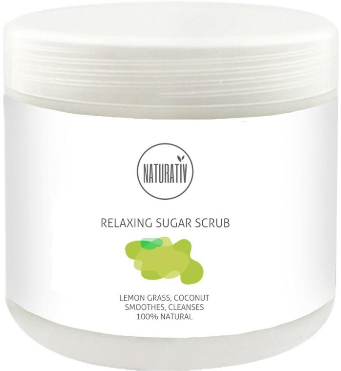 Cukrový peeling na tělo - Naturativ Naturativ Relaxing Body Sugar Scrub — foto N1