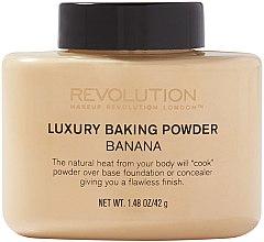 Parfémy, Parfumerie, kosmetika Sypký pudr - Makeup Revolution Luxury Baking Powder Banana