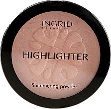 Parfémy, Parfumerie, kosmetika Osvětlující kompaktní pudr - Ingrid Cosmetics HD Beauty Innovation Shimmer Powder
