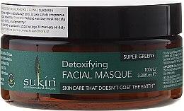 Parfémy, Parfumerie, kosmetika Maska na obličej - Sukin Super Greens Detoxifying Clay Masque
