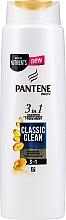 Parfémy, Parfumerie, kosmetika Šampon - Pantene Pro-V Classic Clean 3in1 Shampoo