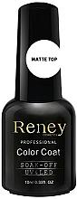 Parfémy, Parfumerie, kosmetika Matný vrchní lak - Reney Cosmetics Top Matte Velvet No Wipe